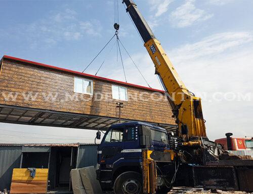 پروژه کانکس ویلایی دوقلو 80 متری دماوند